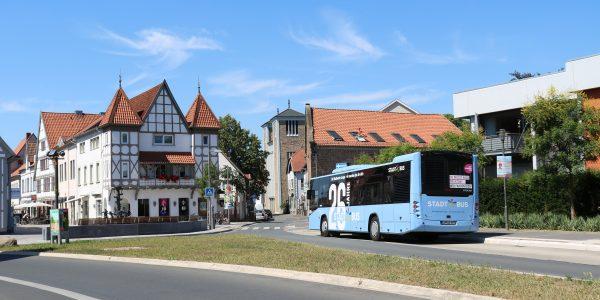 Stadtbus am Lemgoer Ostertor